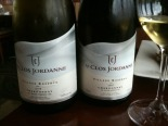 Le Clos Jordanne Chardonnay Village Reserve 2008 Deep golden colour. Comes on strong and gets more subtle with passing moments.  Quince, toast, vanilla, toffee, intense fruit aromas; layered and complex. Driftwood nuances. Bouquet follows through in the f
