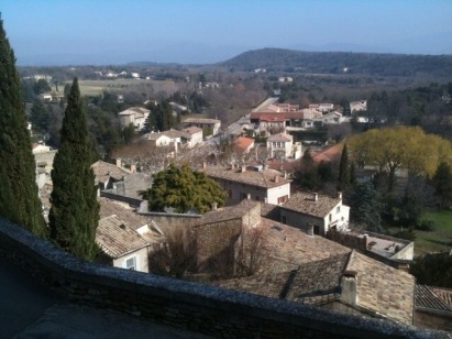 Beautiful Gigondas village, in the Southern Rhône, is a setting of stone edifices, narrow lanes and ...