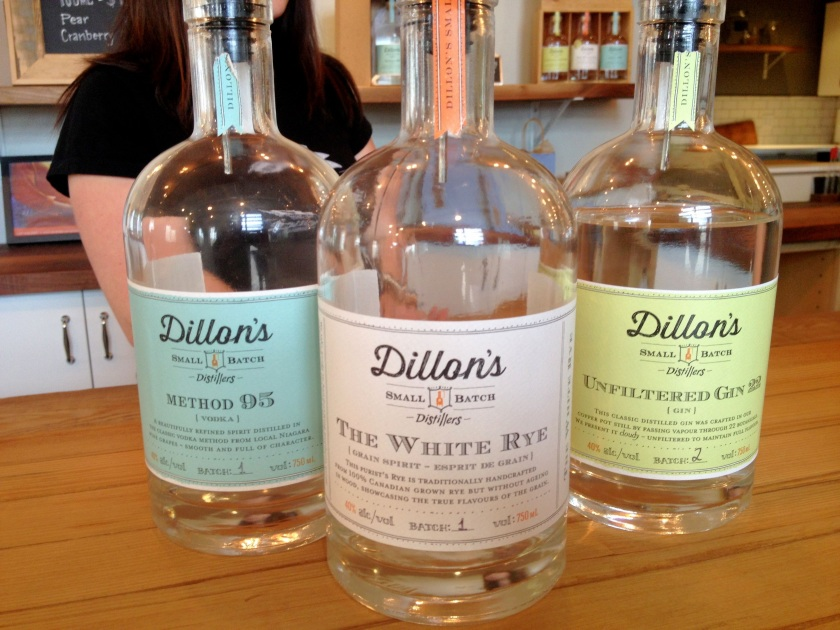 sampling of Dillon's products